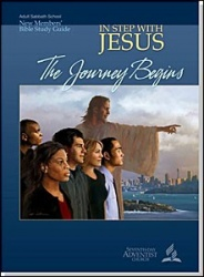 The Journey Begins (In Step With Jesus; New Members Study Guide 1)
